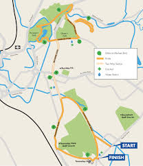 Map Run Route by Race Route Inc Full Course Breakdown Pennine Lancashire 10k Run