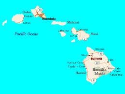 map of hawaii cities hawaii
