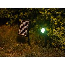 Landscape Spot Light Solar 1 Watt Led Landscape Spot Light Kit Free Shipping On