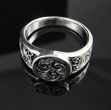 celtic knot ring 925 sterling silver triskele and celtic knots ring sizes 6 13