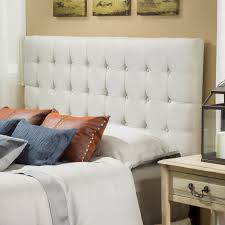 Tufted Leather Headboard Bed Adjustable Bed Real Leather Headboard Bed Frame