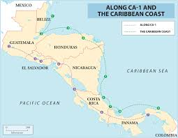 Map Of Central America And Caribbean by Spanish Speaking Countries And Their Capitals South America And