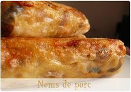 cuisiner des nems nems maison au porc chefnini