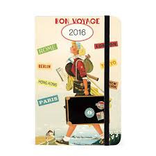 cavallini planner cavallini papers 2016 travel weekly planner 4 x 6 eco paper at