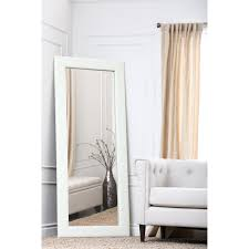 furniture oversized floor mirror with area rug and floor lamp for