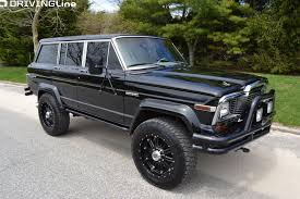 jeep grand wagoneer custom arnold schwarzenegger s diesel jeep wagoneer drivingline