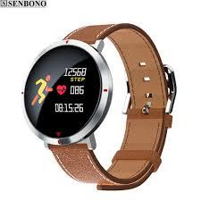 blood pressure wrist bracelet images Senbono s2 bluetooth waterproof smart band pedometer heart rate jpg