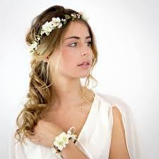 fleurs cheveux mariage génial coiffure couronne de fleurs 12 couronne de fleurs cheveux