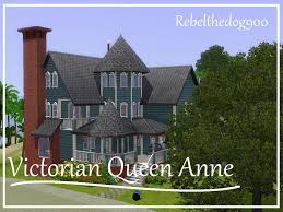 Queen Anne Victorian The Sims 3 Speed Build Victorian Queen Anne House Aluna Island