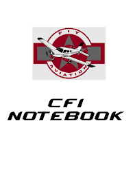 cfi notebook flight instructor recall memory
