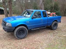 Last Year Ford Ranger Not A Trailer But Still Still Hauling A Motorcycle Trucks