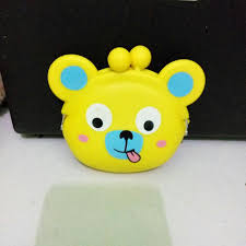 Dompet Koin Karakter beruang kuning dompet koin karakter olshop fashion olshop wanita