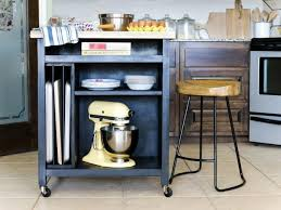 casters for kitchen island how to build a diy kitchen island on wheels hgtv