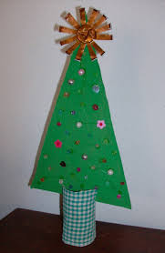 reuse crafts christmas tree cardboard craft