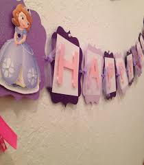 sofia the party ideas sofia the birthday banner princess by karlaspartycreations