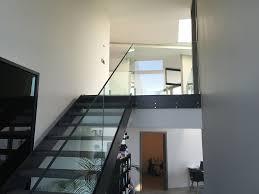escalier garde corps verre ducrot métal service sàrl galerie photos anières