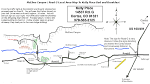 Dolores Colorado Map by Kelly Place B U0026b Location Maps