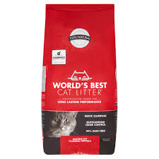 World U0027s Best Cat Litter Multiple Cat Clumping Formula 28 Lb