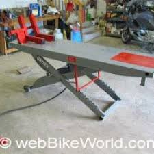 motorcycle lift table plans diy motorcycle table diy craft