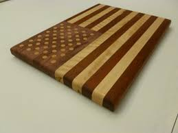 Maple Cutting Boards The American Flag Cutting Board U2014 Bloodwood Curly Maple And