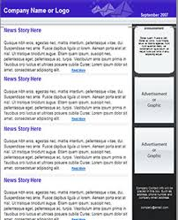 free newsletter template html email template tried u0026 tested