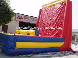 kids outdoor climbing wall backyard rock climbing wall inflatable