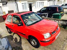 1999 nissan micra inspiration 16v 1 0l manual sunroof in edgware