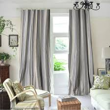 Grey And White Striped Curtains Gray Striped Curtains