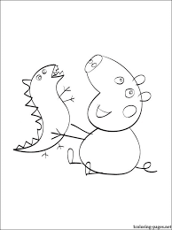peppa pig coloring pages kids coloring pages
