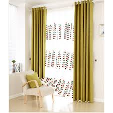 Yellow Curtains Nursery Discount Cotton Linen Blend Green Nursery Curtains