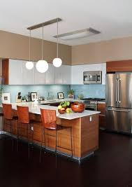kitchen stylish and atmospheric mid century modern kitchen