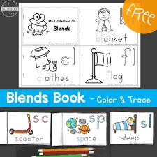 blends book color u0026 trace