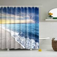 Waterproof Fabric Shower Curtains Popular Beach Fabric Shower Curtain Buy Cheap Beach Fabric Shower