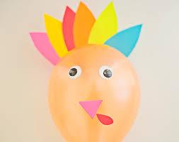 hello wonderful diy thanksgiving turkey balloons
