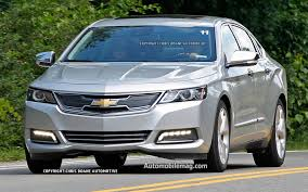 spied 2014 chevrolet impala eco gains a volt like grille