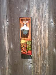 tiki bar opener tiki bar decor wall mount opener tiki