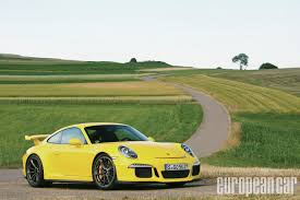 porsche carrera 2014 2014 porsche 911 gt3 european car magazine