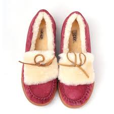 womens ugg flat shoes winter warm ugg flat shoes in wine1872 ugg xz10160981