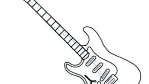 large guitar coloring page guitar coloring page guitar ng pictures electric guitar ng sheets on
