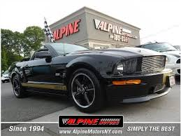 2007 Mustang Gt Black Ford Mustang Gt New York 16 Black 2007 Ford Mustang Gt Used Cars