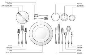 Formal Setting Of A Table Holiday Table Setting And Table Linen Care From Fashion Cleaners Omaha