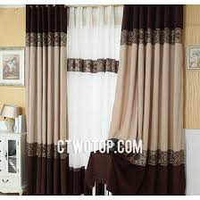 Designer Drapes Gray Patterned Overstock Modern Semi Custom Curtains