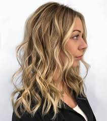 hair highlights bottom picture of dark blonde bottom color with lighter highlights throughout