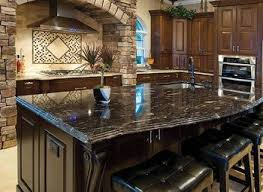kitchen island with black granite top kitchen black granite normabudden com