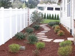 side yard idea for where grass will not grow at gate on north side