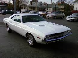 white dodge challenger for sale white 1970 dodge challenger car insurance info
