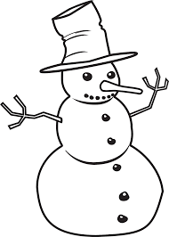 snowman black and white black and white christmas clip art free 2