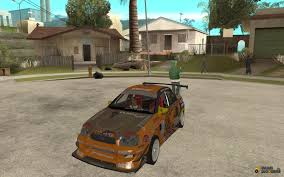 orange subaru impreza impreza wrx team orange drift sa mp for gta san andreas