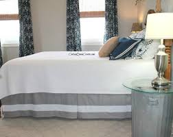 How To Short Sheet A Bed 10 Doable Bed Skirts With Little Or No Sewing Hometalk