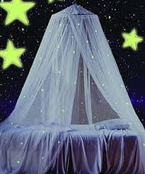 Glow In The Dark Stars Bedroom Mombasa Children U0027s Glow In The Dark Canopy Free Shipping On